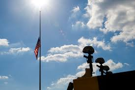 Federal Flag Half Mast File Flickr The U S Army Flags Lowered At Fort Hood Jpg