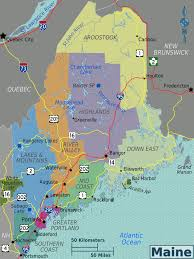 map of maine cities maine travel guide at wikivoyage