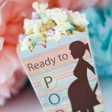 baby shower party favors baby shower popcorn party favor recipe tip junkie