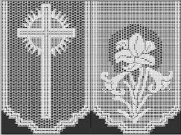 imagenes religiosas a crochet ganchillo con temas religiosos punto de red hazlo tu mismo