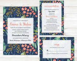 Wedding Invitation Sets Wedding Invitation Kits Etsy Ca