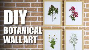 diy botanical wall art room decor ideas mad stuff with rob