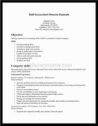 Tax Accounting Resume Resume Sample Of Accounting Resume