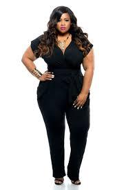 black plus size jumpsuits black blue v neck jumpsuits plus size tie waist