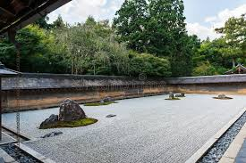 Ryoanji Rock Garden Rock Garden At Ryoanji Temple In Kyoto Japan Stock Image Image