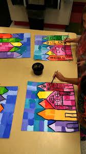 artolazzi warmcool suns warm and cool colors lesson plan dsc