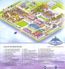 Bangkok Map Grand Palace Map Triptutor Com