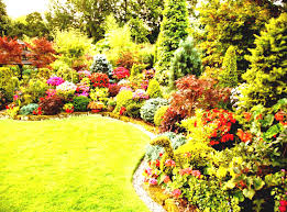 Landscape Flower Bed Ideas by Triyae Com U003d Simple Backyard Flower Gardens Various Design