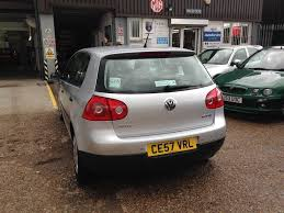volkswagen golf with new mot and full service history 1 6 fsi 5