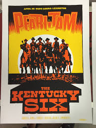 inside the rock poster frame blog ames bros pearl jam lexington