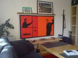 how to make a projection screen that u0027s also a painting 8 steps