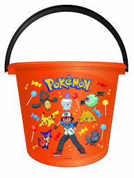 Halloween Bucket Trick Or Treat Pail