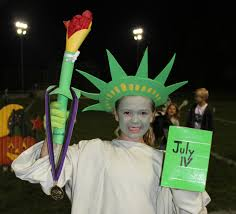 Statue Liberty Halloween Costume Halloween Costume Parade Contest Sparta Nj Local