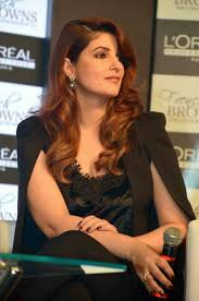 twinkle khanna gets a hair makeover at newly held l u0027oreal