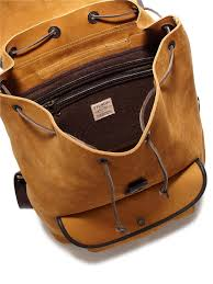 Rugged Leather Backpack Filson Rugged Leather Backpack For Men Lyst