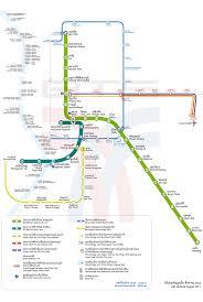 Metro Violet Line Map by Bangkok Bts Map Sky Train A Guide To Bangkok U0027s Bts And