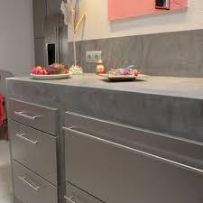 plan de travail cuisine beton le béton ciré ou l esprit loft inspiration cuisine le magazine