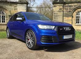 Audi Q7 Blue - used 2017 audi q7 for sale in west yorkshire pistonheads