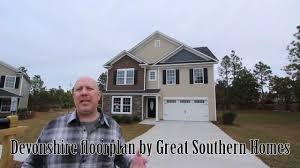 devonshire floorplan built by great southern homes in columbia and