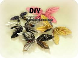 diy paper craft how to make paper butterfly in 2 min easy