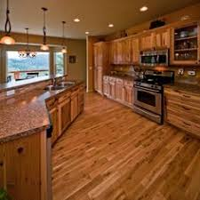 Hickory Wood Kitchen Cabinets What Flooring Goes With Hickory Cabinets Google Search Home