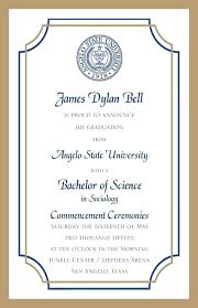 graduation announcement wording exle of a college graduation announcement formal invitations