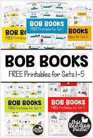 free bob books printables