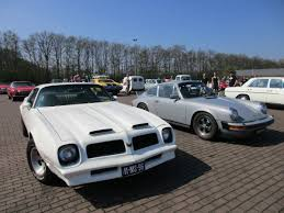 Last Year Of Pontiac Firebird Car Show Outtakes 1974 Porsche 911s Sportomatic And 1976 Pontiac