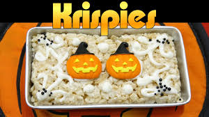 mini rice krispies halloween treats miniature retro kitchen