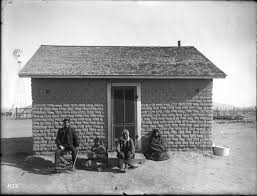 Adobe House File Adobe House Belonging To The Pima Indian Interpreter Gila