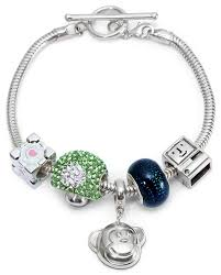 sterling silver bracelet for charms thinkgeek