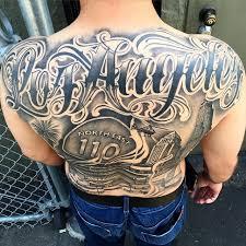 los angeles dodgers tattoos ideas center