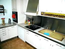 plaque murale inox cuisine plaque inox cuisine ikea cheap kitchenette ikea et autres mini