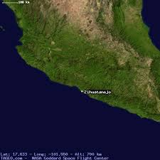 zihuatanejo map zihuatanejo guerrero mexico geography population map cities