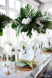 tropical wedding theme best 25 wedding centerpieces ideas on
