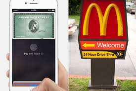 subway mcdonald u0027s and other chains are launching apple pay today