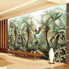 painted wall murals tropical wall murals you ll love online get rainforest wall murals aliexpress com alibaba