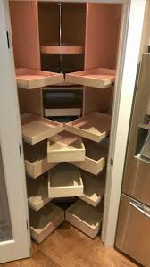 pull out shelves for kitchenets small and narrow corneret with diy