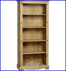 Corner Bookcase Unit Corner Bookcase Large Display Unit Wooden Book Shelf Rustic