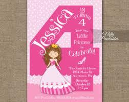 4th birthday invitations printable fourth birthday