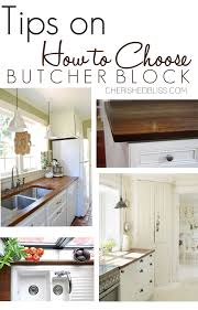 kitchen cabinet colors with butcher block countertops tips for choosing butcher block counter tops cherished bliss