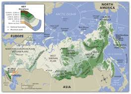 Geography Blog Russia Outline Maps by Russia