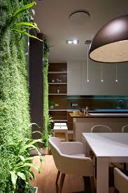 lovely indoor vertical garden for green wall decorating ideas
