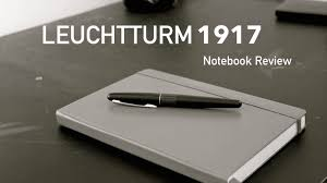 leuchtturm 1917 notebook leuchtturm1917 notebook review