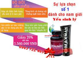gel maxman giúp phát triển làm tăng kích cỡ dương vật