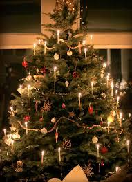 nordic christmas trees christmas lights decoration