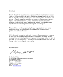 format of request letter to company corporate sponsorship letter corporate sponsorship thankyou letter