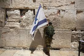 Soldier With Flag The Six Day War Built A Messianic Strain In Israeli Politics Time