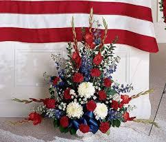 white and blue floral arrangements ftd s30 3178 greater arrangement kremp