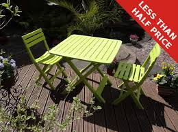 Resin Bistro Chairs Furniture Ds 2 Seater Tropea Lime Green Resin Bistro Set